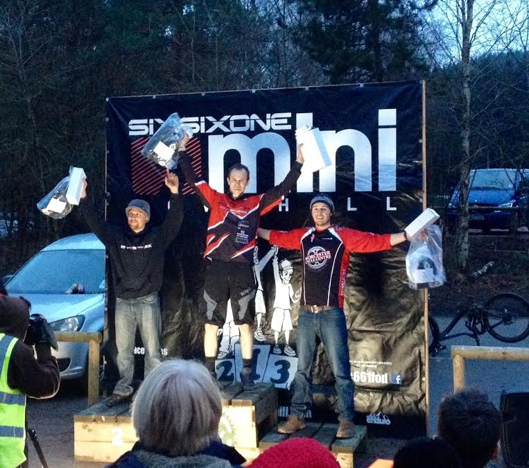 Podium for team rider Mark West in Downhill!
