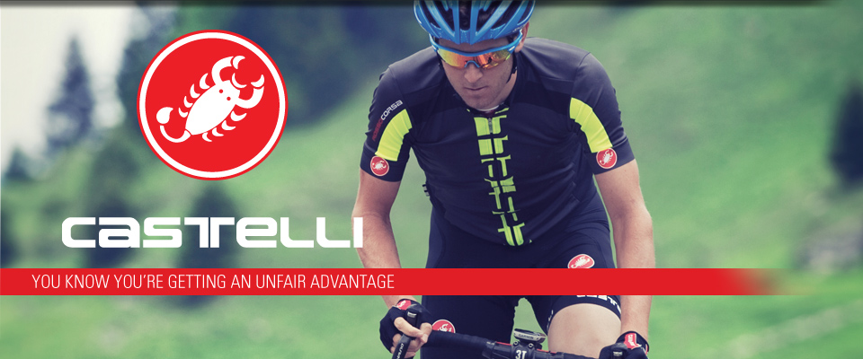 We Now stock Castelli clothing!
