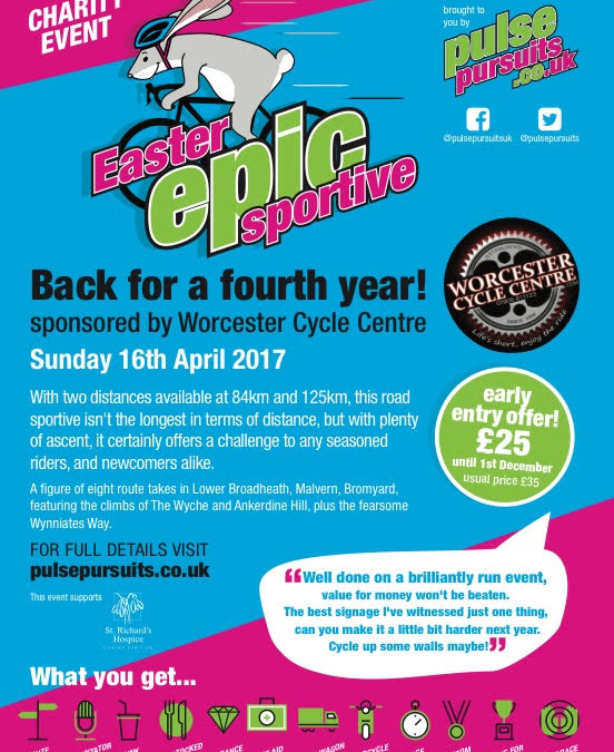 We are backing the Easter Epic 2017
