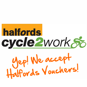 We now accept Halfords Vouchers