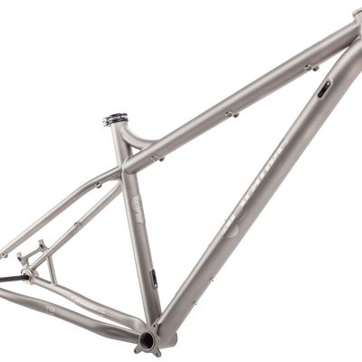 Orange T9 Frame titanium