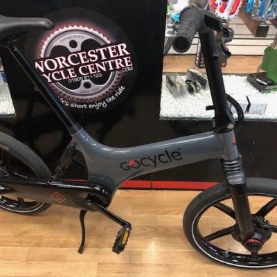 Gocycle demo bike
