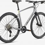 Specialized Sirrus X 3.0 Silver 2021 Rear view